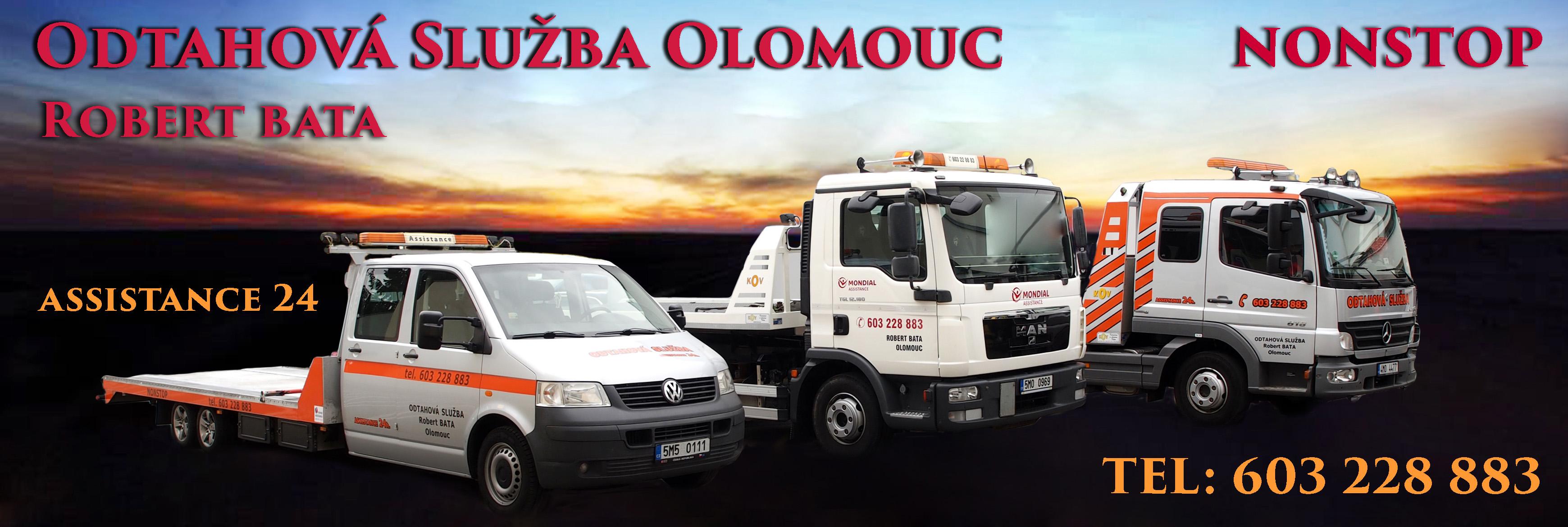 Odtahová služba Olomouc